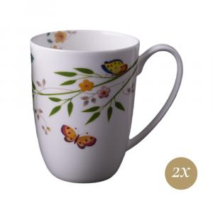 Set 2 Mugs in Giftbox GCV | Incanto di Primavera