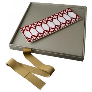 Vassoio rettangolare cm 35 in Giftbox GCV | Le loze dei bei palassi | Venezia 1600