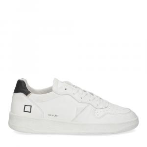 D.A.T.E. Court pure white black-2