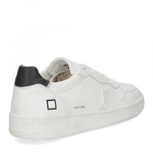 D.A.T.E. Court pure white black-5