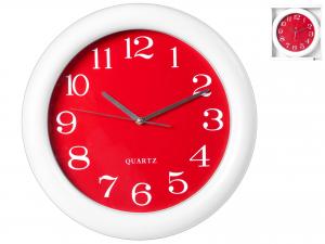 H&H Orologio Parete Tondo /Rosso 40 Arredo E Complementi Casa