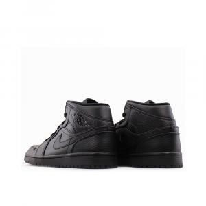 Jordan 1 Mid  Total Black