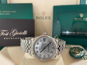 Rolex Datejust 278274 madreperla e brill  jubilee 31mm