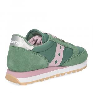 Saucony Jazz Original green pink-5