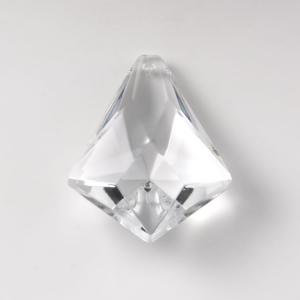 Pendente 60 mm vetro cristallo molato