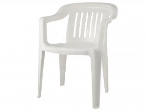 Poltroncina Monoblocco Venezia Colore Bianco -182