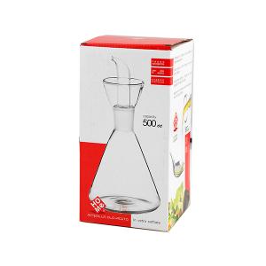 H&H Ampolla Borosilicato Trasparente Conico Cc500 arredo tavola