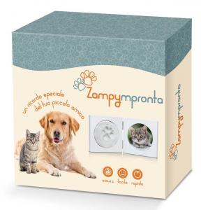 Babyimpronta Set Impronte Per Animali Zampympronta Cornice In Plexiglass Regalo 725