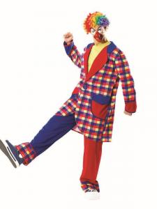 Clown 28262 Costumi Completo Adulto Party E Carnevale Giocattolo 359