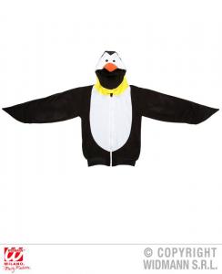 WIDMANN Pinguino Felpa Pile Con Cappuccio Costumi Completo Adulto Party 862