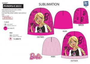 SUNCITY Cappellino 100%Pe Barbie Cappellino / Sciarpa Guanti Gadget Regalo 482
