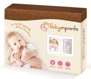 Babyimpronta Portafoto Singolo C/Impronte Cornice In Plexiglass Regalo 614