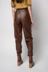 Pantalone Shelby 3 effetto pelle Pinko