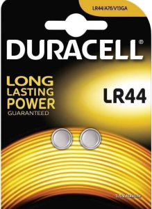 DURACELL Duracell 2 bottone lr44 du23 batteria