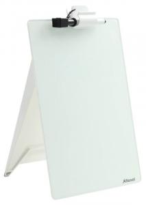 Cavalletto in vetro con pennarello articolo per ufficio