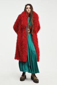 Cappotto Ecofur Lola rosso Aniye By