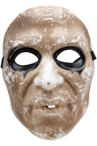 CARNIVAL TOYS Maschera Zombie In Plastica Rigida In Busta C/Cav. Party