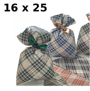 PNP Confezione 100 Buste Misura 16X25Cm Fantasie Natalizie Assortite Buste