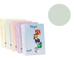 FAVINI Risma 500 Fogli 80 Grammi Formato A4 Colore Verde Carta Da Fotocopie