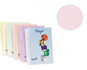 FAVINI Risma 500 Fogli 80 Grammi Formato A4 Colore Rosa Carta Da Fotocopie