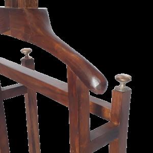 Servo-muto in legno di palissandro indiano