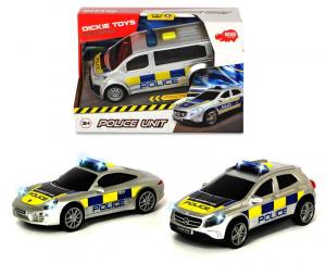 SIMBA Dickie Sos Police Unit, 3-Asst. Cm. 15, Scala 1:32, Luci E Suoni, Try Me.