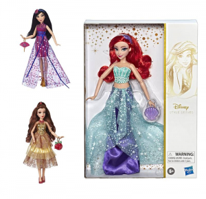 HASBRO Disney Princess Princess Style Personaggi E Playset Femminili