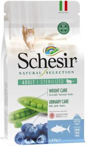 SCHESIR CAT SELECTION STERILISED TONNO