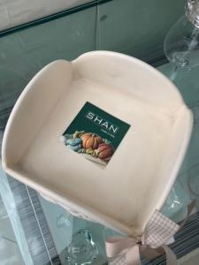 Portatovaglioli in ceramica Shan Collezione Zucche cod. F115.11