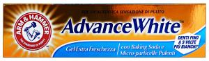 ARM & HAMMER Dentifricio ADVANCE WHITE Gel Freschezza 75 Ml. Prodotti per denti e viso