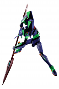 *PREORDER* Evangelion 3.0+1.0 DYNACTION: TEST TYPE-01 + SPEAR OF CASSIUS (Renewal Color Ed.) by Bandai Tamashii