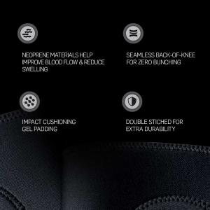 Space Brace Knee Pads | Black