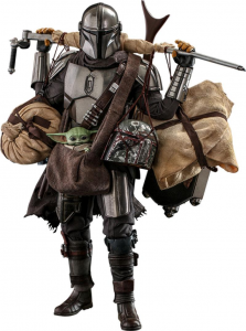 *PREORDER* Star Wars - The Mandalorian: THE MANDALORIAN & GROGU (Deluxe Version) 1/6 by Hot Toys