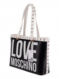 Love Moschino Shopping  Nera e bianca