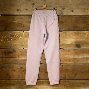 Pantalone Amish Supplies Jogger in Cotone Organico Lilla