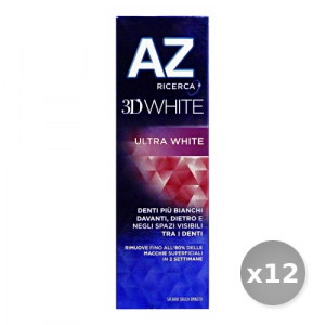 Set 12 AZ Dentifricio 3d White Ultra White 75 ml Prodotti per il Viso