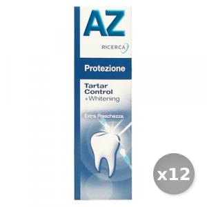 Set 12 AZ Dentifricio Base Tartar Control 75 ml Prodotti per il Viso