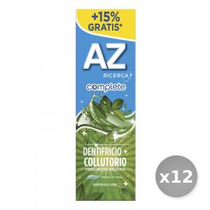 Set 12 AZ Dentifricio Complete + Collutorio Freschezza Delicata 75 ml Prodotti per il Viso
