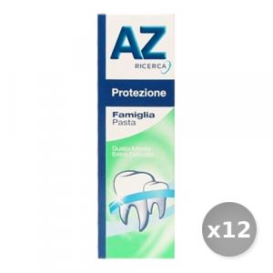 Set 12 AZ Dentifricio Base Protezione Famiglia Pasta 75 ml Prodotti per il Viso