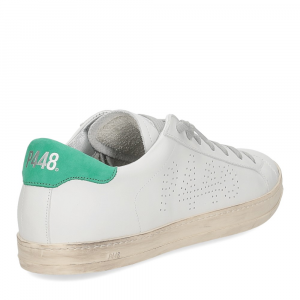 P448 BJohn-M white green-5