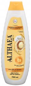 ALTHAEA Shampo argan 750 ml prodotto per la cura dei capelli