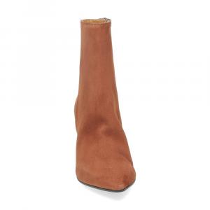 Anna de Bray tronchetto T7101 camoscio marrone-3