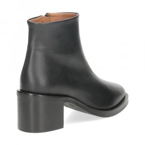 Il Laccio tronchetto D952 pelle nera-5