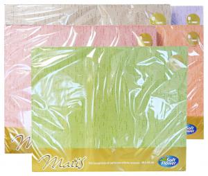 SOFT Flower tovagliette 30x40 100 pezzi articolo per i pasti