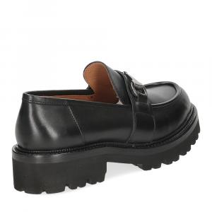 Il Laccio mocassino accessorio 3248 pelle nera-5