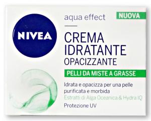 NIVEA Acqua Idratante Opacizz.P.Miste/Grasse 50 ml Creme Viso E Maschere