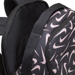 Nike Zaino Brasilia Black/pink 18litri