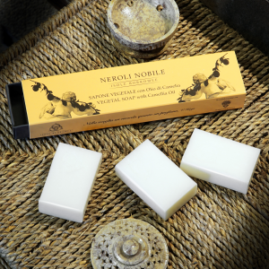 Package 3 small guest soaps - Neroli Nobile Fragrance