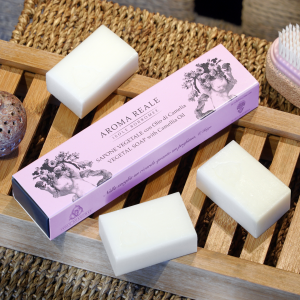 Package 3 small guest soaps -Aroma Reale Fragrance