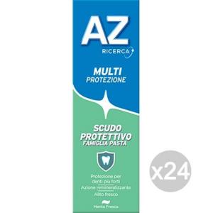 Set 24 AZ Dentifricio Verde Pasta Scudo Famiglia Classic Igiene E Cura Dei Denti